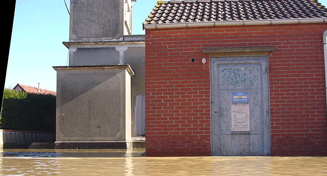 capteur iot DINO inondation transformateur