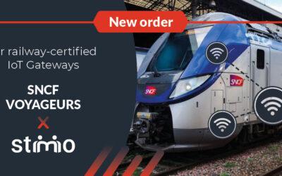 SNCF – Commande de 140 passerelles IoT ferroviaires