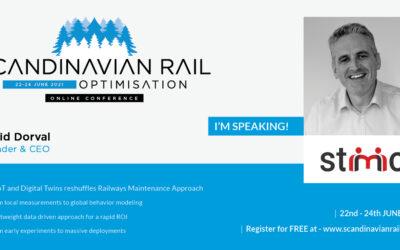 Stimio présent au Scandinavian Rail Optimisation