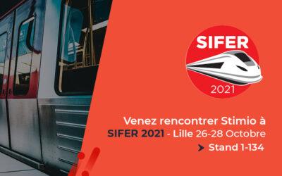 Stimio au SIFER 2021 du 26 au 28 octobre